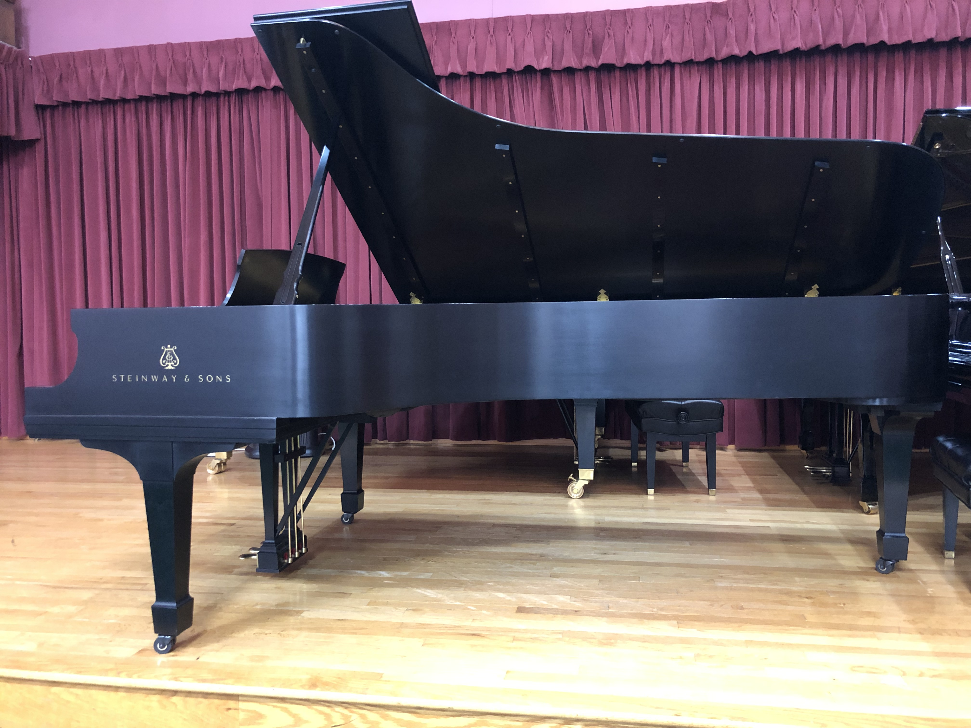 Steinway D for sale by Hartzler Pianos