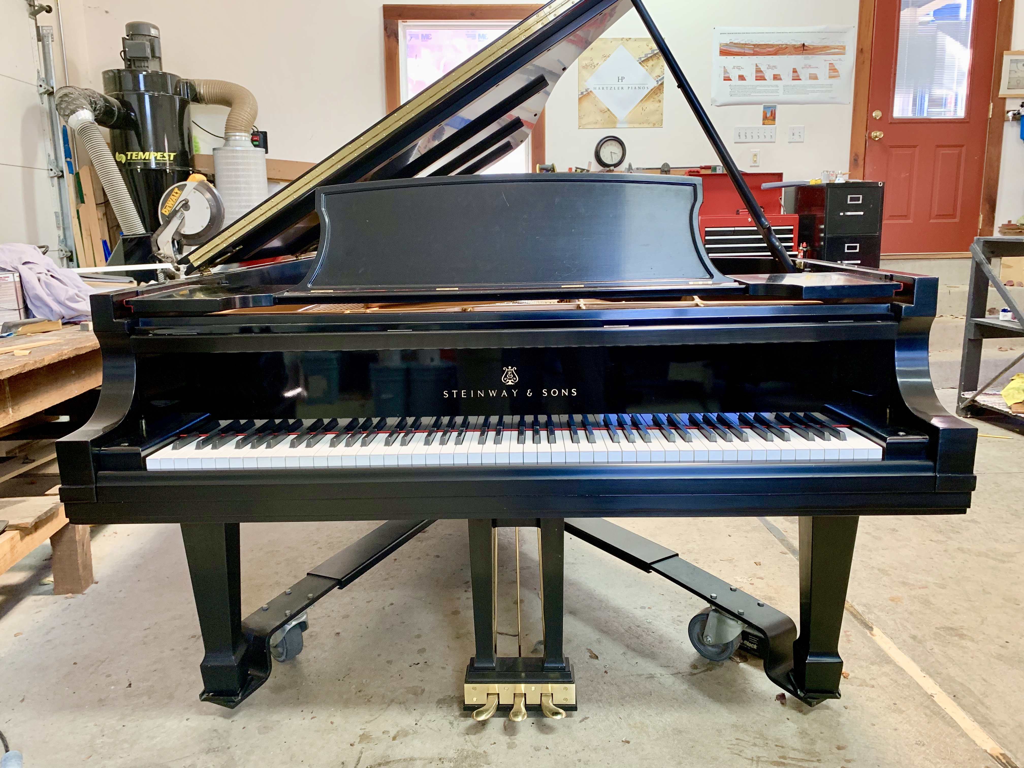 Steinway D for sale Hartzler Pianos
