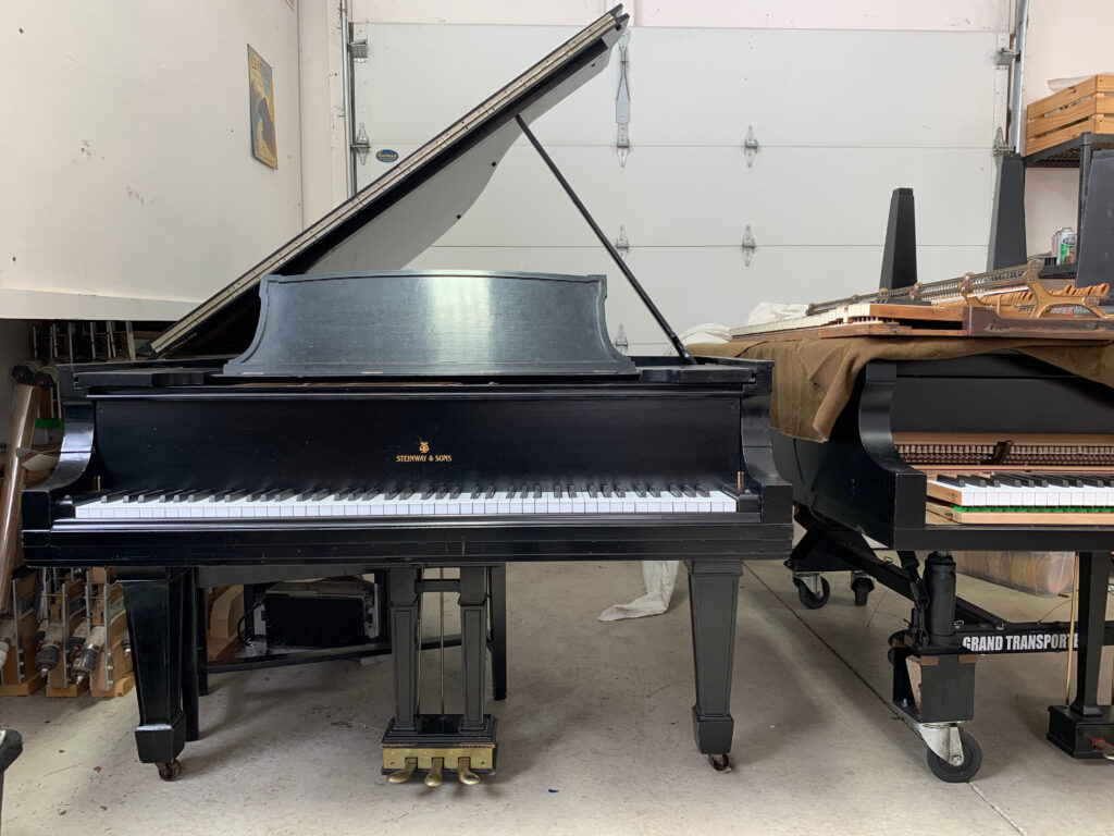 Steinway A for sale by Hartzler Pianos